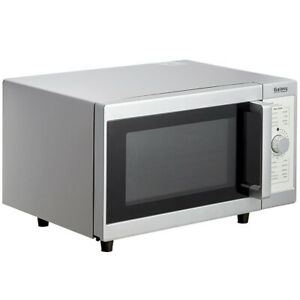 Microwave Oven Dial Controls Countertop Commercial Office 1000 Watt 9 Cu Ft