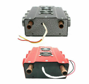 Universal Under Dash Heater 12v Heat W Speed Switch For Car Or Truck 6 Port