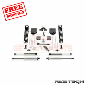 Fabtech 6 Basic Syst W Ss Shocks For Ford F550 4wd 10 Lug Chassis Cab 11 13