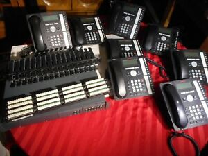 Avaya Ip Office 500v2 Telephone System With 8 Telephones