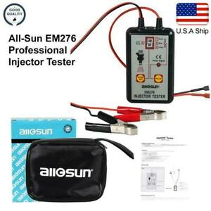 All Sun Injector Tester Fuel System Tool 4 Pluse Modes Tester Diagnostic Tool