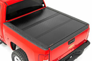Rough Country Hard Tonneau Cover fits 07 13 Chevy Silverado Sierra 5 8 Ft Bed