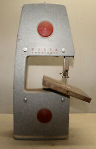 Delta Rockwell Homecraft 1950 s Bench Top 10 Bandsaw Collectible Wood Saw Tool