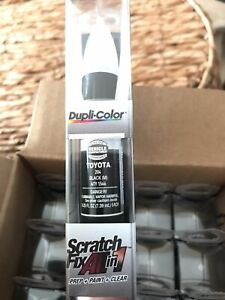 Dupli Color Aty1566 Black Met Scratch Fix Touch Up Paint Aty204
