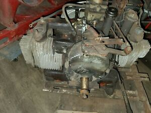 Unbranded Antique Twin Cyl Gas Engine Engine