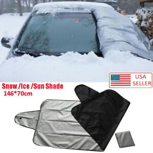 Universal Car Windshield Cover Snow Ice For Car Frost Guard Winter Protector