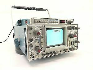 Tektronix 466 Oscilloscope 2 Ch 100mhz Portable Storage Oscilloscope