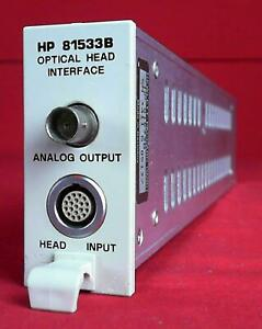 Hp Agilent Keysight 81533b Optical Head Interface Module