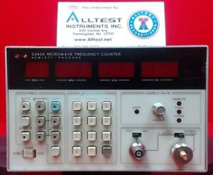 Hp agilent keysight 5343a Frequency Counter 10 Hz To 26 5 Ghz