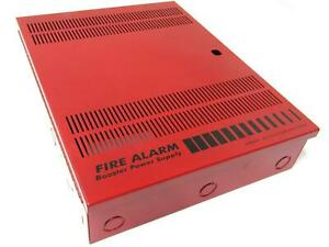 Est Edwards 3302497 Fire Alarm Remote Booster Power Supply Panel