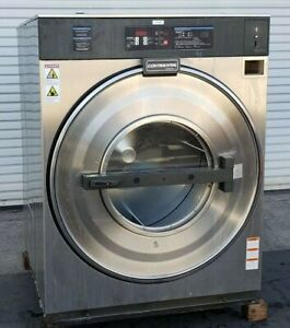 Continental girbau Front Load Washer Coin Op 75lb 208 240v P n 1032196a14 ref