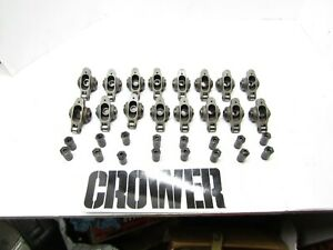 Crower Stainless Steel Roller Rocker Arms 1 6 1 5 Sb Chevy Imca Ump Dragrace
