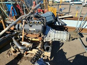 Ford 4 6 2 Valve Complete Engine With Transmission