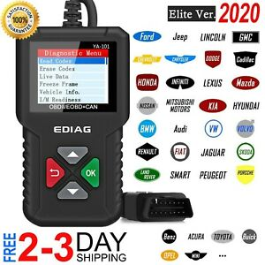 Car Scanner Auto Engine Light Fault Code Reader Diagnostic Tool Computer New2020