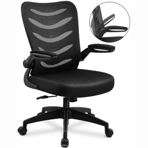 Comhoma Desk Chair Ergonomic Office Mesh Chair Computer Swivel For Conference