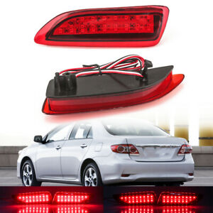 Rear Bumper Brake Light Led Lamp For Toyota Corolla lexus Ct200h 2011 2012 2013