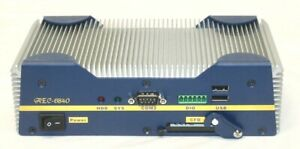 Aec 6840 Fanless Embedded Control Pc Intel Ulv Celeron 650mhz Cpu Used