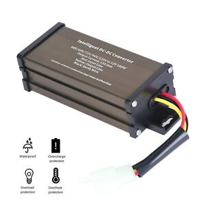 Golf Cart Dc Converter 120v 120 Volt Voltage Reducer Regulator To 12v 15a