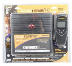 Dare Power Pro Dpp 1800 Electric Fence Charger 3480 Fault Finder Remote