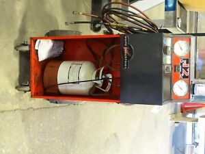 White Industries Refrigerant Recycling Recovery System Machine R12