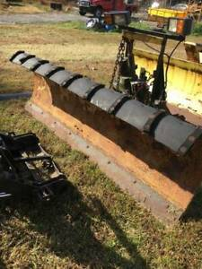 Fisher Snow Plow 8 Straight Blade Snowplow With Lights 8 300