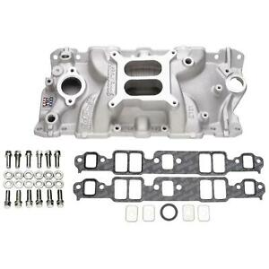 Edelbrock 2701 Performer Eps Intake Manifold Install Kit For Sbc