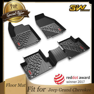 3w Floor Mats For Jeep Grand Cherokee 2013 2014 2015 Front Rear 2nd Row Full Set