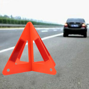Car Triangle Safety Warning Parking Sign Reflective Fold Road Emergency Csl2