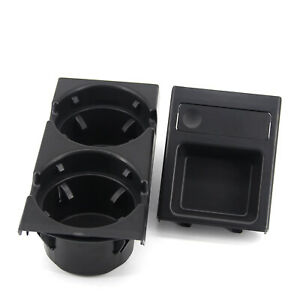 Front Center Console Cup Holder Black For Bmw E46 3 Series 51168217953
