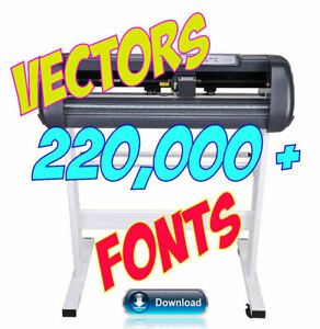 Vectors Clipart Logos Icon Fonts Eps Plotter Brother Scan N Cut 220 000 Designs