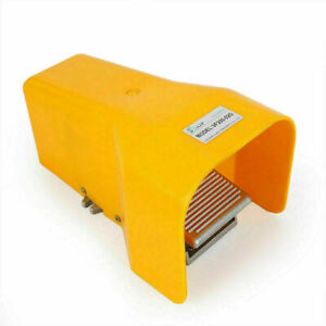 Foot Pedal Valve 4 Channels 2 Position 1 4 Npt Air Pneumatic Switch Usa