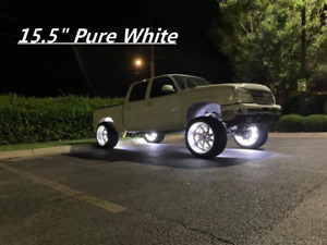 Fia Off Road Solid Color White Lights Wheel Rims Truck Led Strobe Ip68waterproof