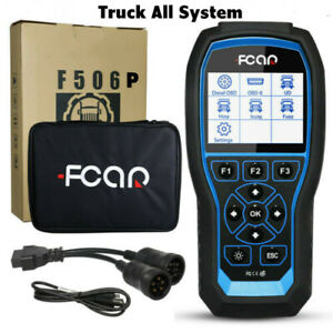 All System Truck Diagnostic Dpf Regeneration Diesel Heavy Duty Truck Obd Scanner