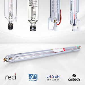 Co2 Laser Tube For 40w 150w Laser Cutting Engraving Machines Engraver Cutter Us