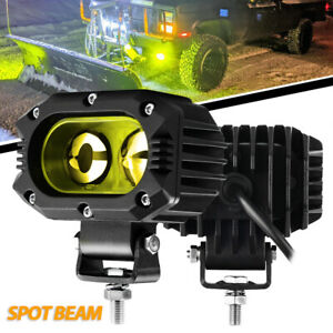 5inch 120w Led Work Light Bar 4x4wd Offroad Spot Pods Fog Atv Suv Driving Lamp