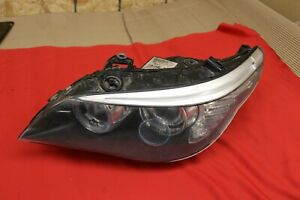 Bmw 5 Series Genuine Left Dynamic Bi xenon Complete Headlight For Parts Oem
