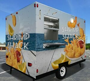 Brand New Concession Food Trailer Custom Trailers Manufacturer Food Truck