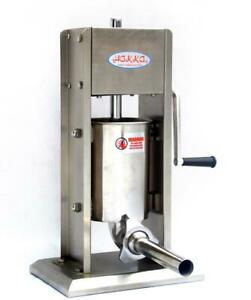 Commercial Sausage Stuffer 2 Speed Stainless Steel Vertical Sausage