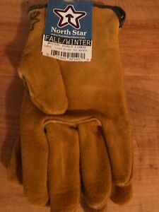 Strongman Koala Lined Cowhide Leather Work Gloves Made In The Usa Sizes Sm xl