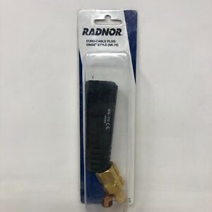 Radnor Model Sk 70 400 Amp Dinse Style Male Euro Cable Plug For 1 0 2 0 Cable