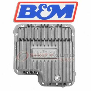 B M Automatic Transmission Oil Pan For 1967 1973 Ford Mustang Hard Parts Et