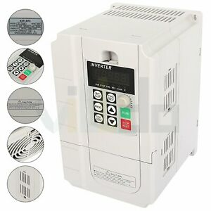 220v 0 45kw Variable Frequency Driver Interver Vfd Single To 3 Phase Output