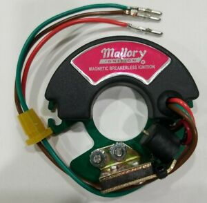 Mallory 609 Magnetic Breakerless Ignition Module New