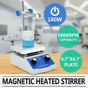 Sh 2 Magnetic Stirrer Mixer W hot Plate Heating Digital Electric Stir Pellet Pro