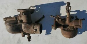 Two 1920 1927 Model T Ford Carburetor Including One Original Holley Nh