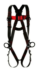3m Protecta Capital Safety 1161511 Vest Style Full Body Climbing Harness Md lg