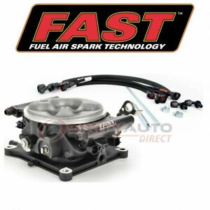 Fast Fuel Injection System For 1970 Jeep J 4700 Air Delivery Zf