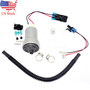 For Walbro Ti 535lph F90000295 Hellcat Fuel Pump 400 1168 Install Kit E85