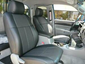 Clazzio Synthetic Leather Seat Covers For Toyota Tacoma Double Cab Crew Cab