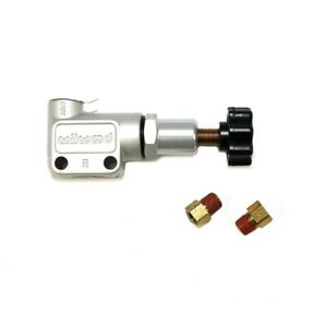 Wilwood 260 8419 Aluminum Steel Knob Adjustable Disk Brake Proportioning Valve